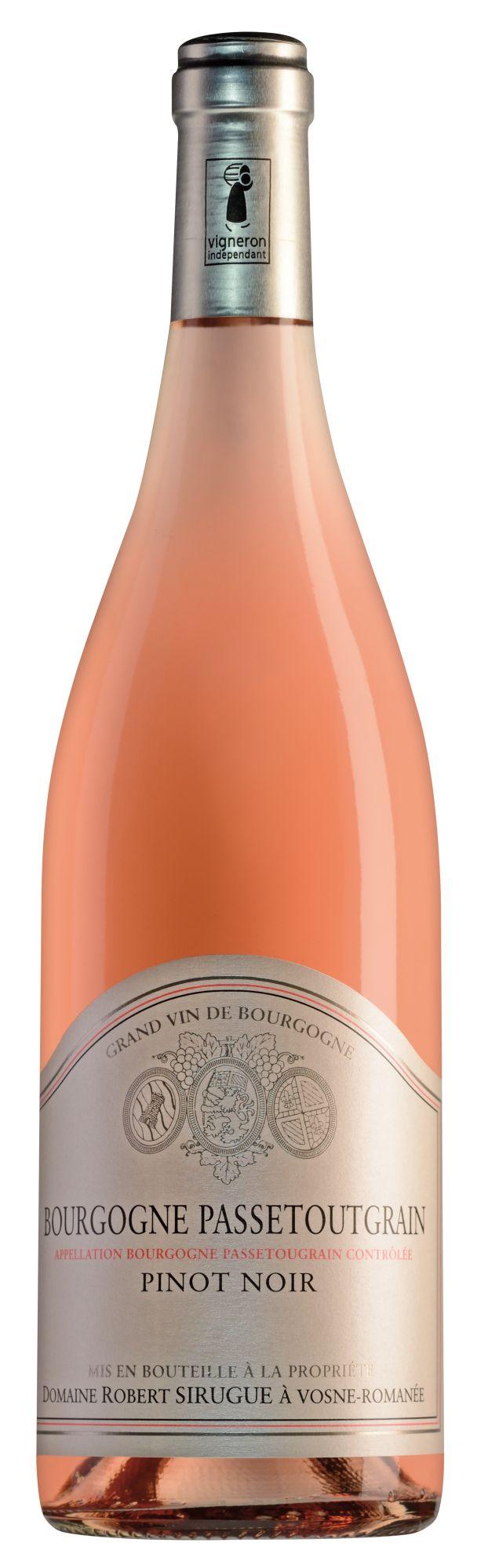 Domaine Robert Sirugue Bourgogne Passetoutgrain rosé