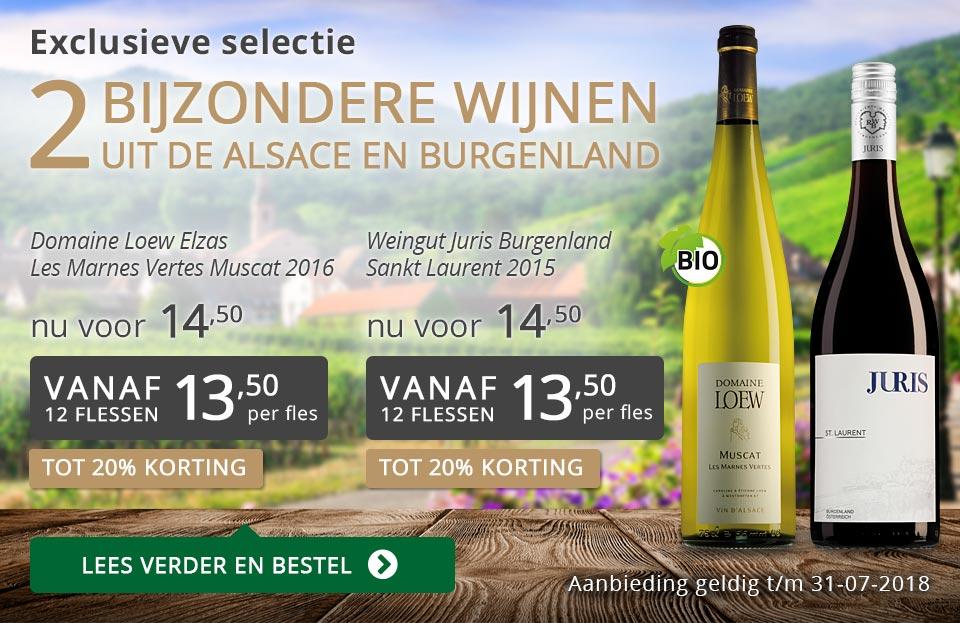 Exclusieve wijnen juli 2018 - grijs/goud